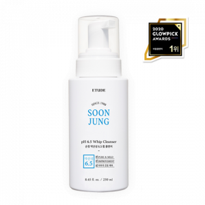 ETUDE HOUSE Soon Jung subacid 6.5 Whip Cleanser 250ml [Big Size]