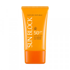 Nature Republic California Aloe No sebum Sunblock SPF45 PA+++ 57ml