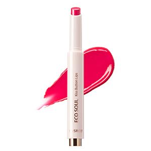 The Saem Eco Soul KISS Button Lips (New Color) 2g