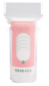 The Face Shop Daily Beauty Tools Round Cotton Facial Pad 80ea