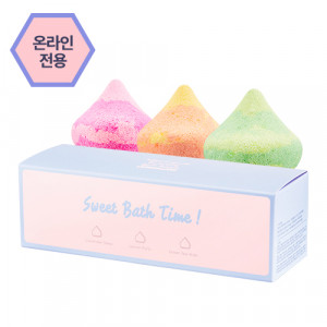 APIEU Meringue Bubble Bath Bomb Special Set 100g*3ea