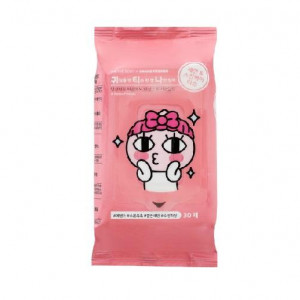 On The Body KAKAO Friend Wash Face & Skin Care Tissue 30pcs