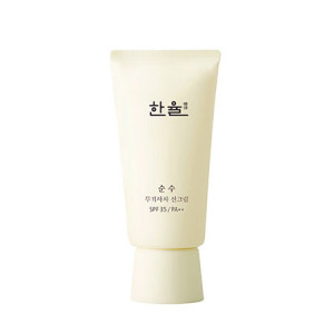 HANYUL Pure Mineral Filter Sun Cream SPF35 PA++ 50ml