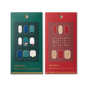 Innisfree [2018 Green Christmas] Gel Nail Design Tip 1ea