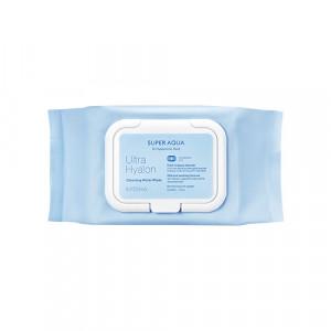 Missha Super aqua ultra hyalron Cleansing Water Tissue 30sheets/ 139ml