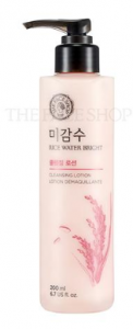 The Face Shop Rice Water Bright Cleansing Lotion 200ml
