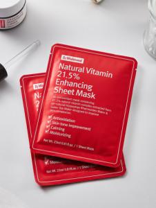By Wishtrend Natural Vitamin 21.5 Enhancing Mask 1ea