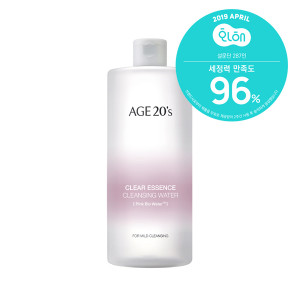 Age 20's Clear Essence Cleansing Water 500ml