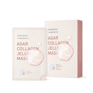 Innisfree Agar Collagen Jelly Mask Set 33ml*10ea