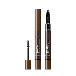 THESAEM Eco Soul Brow Pencil & Mascara 0.2g+2.5ml