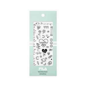 Innisfree [Items for Month/FILA] Body Tatoo Sticker 1pcs