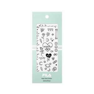 Innisfree [Items for Month/FILA] Body Tatoo Sticker 1pcs
