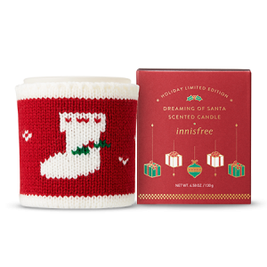 Innisfree [2018 Green Christmas] Scented Candle Dreaming Of Santa 130g