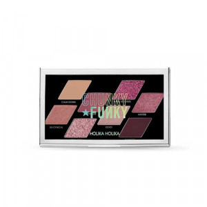 HolikaHolika 19 FW Collection Chunky Funky Chunky Metal Shadow Palette [Feel So Cool] 5.6g
