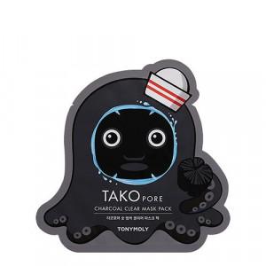 TONYMOLY Tako Pore Charcoal Clear Mask Pack 20g