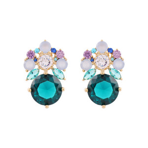 Noonoo fingers Royal blue Earring