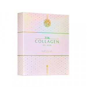 Missha 24K Collagen Gel Mask 30g*10ea/ 1Set