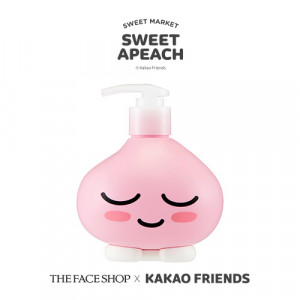 The Face Shop [Sweet Apeach] Cherry Blossom Hand & Body Lotion 400ml