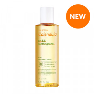 MISSHA Su:nhada Calendula pH 5.5 Soothing Toner 175ml