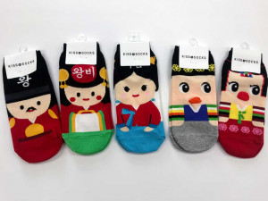 Character Socks [Korean Character]