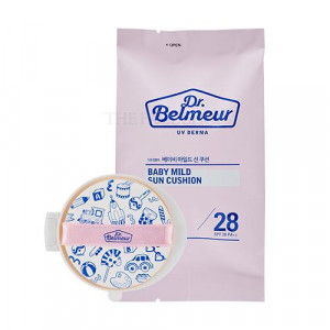 The Face Shop Dr.Belmeur UV Derma Baby Mild Sun Cushion SPF28 PA++ [Refill] 15g