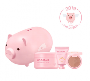 Missha 2019 Pig Dream Kit_Brown Rosy Dream [Online]