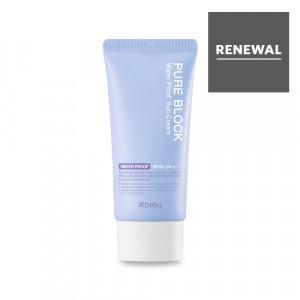 A'PIEU Pure Block Natural Waterproof Sun Cream SPF50+/PA+++ 50ml