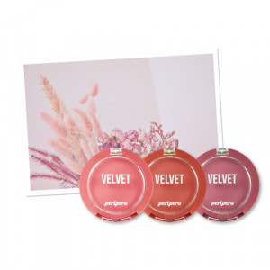 Peripera [Pink Moment] Pure Blushed Velvet Cheek 4g
