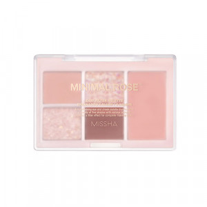 Missha Easy Filter Shadow Palette [#02 Minimal Rose] 8.5g