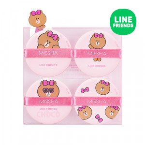 Missha (Line Friends Edition) Tension Pact Puff 4P
