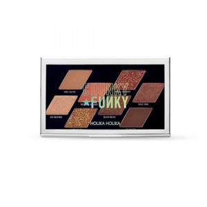 HolikaHolika 19 FW Collection Chunky Funky Chunky Metal Shadow Palette [Feel So Hot] 5.6g