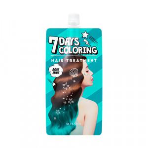 Missha 7 Days Coloring Hair Treatment (Aqua Mint) 25ml