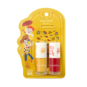 Innisfree [Innisfree X Toy Story] Real Color Nail Set 6ml*2+1ea