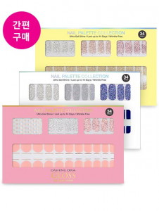 [R] DASHING DIVA Gloss Gel Nail Strip 1ea