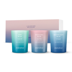 Innisfree Jeju Scent Picker [Blue Collection] Candle Set [Online]