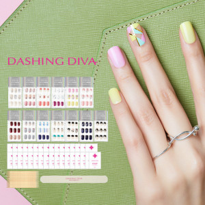 [H] Dashing Diva Magic Press Nail Premium Slim Fit 13set