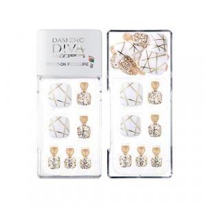 Missha x Dashing Diva Magic Press Pedicure [Gold Trace] 1set