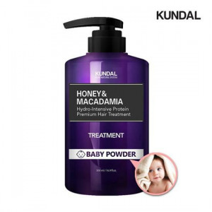 Kundal Honey & Macadamia Hydro Intensive Protein Premium Hair Treatment 500ml