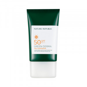 Nature Republic Green Derma Mild Sun Cream SPF50+ PA++++50ml