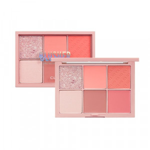 CLIO [New Color] Pro Blusher Palette #002 Bloom Pastel 3.2g*6