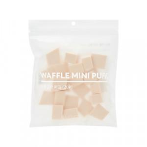 Missha Waffle Mini Puff 20pcs