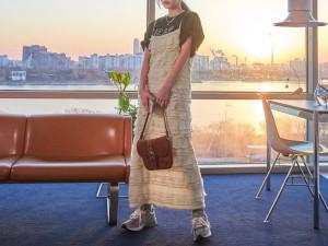 [R] STYLENANDA Tiered Sleeveless Maxi Dress 1pcs