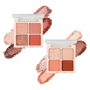 The Face Shop fmgt [Rosy Nude Edition] Quad Eye Shadow Palette  1.2g*4