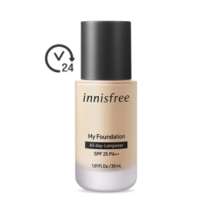Innisfree My Foundation [All Day Long Wear] SPF25 PA++ 30ml