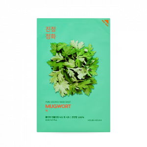 HolikaHolika Pure Essence Mask Sheet [MugWort] 23ml