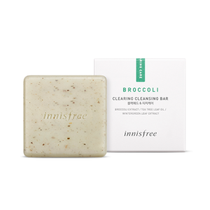 Innisfree Broccoli Clearing Cleansing Bar