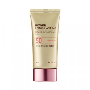 The Face Shop Power Long Lasting Pink Tone Up Sun SPF50+ PA++++ 50ml