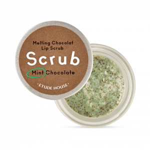 Etude House Melting Chocolat Lip Scrub Mint Chocolate 12g