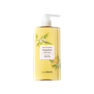 The Saem Touch On Body Grapefruit Body Lotion 300ml