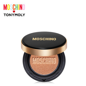 TONYMOLY [MOSCHINO] Gold Edition Chic Skin Cushion SPF50+PA+++ 15g